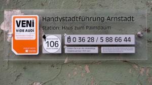 Handy-Stadtführungs-Telefonnummer