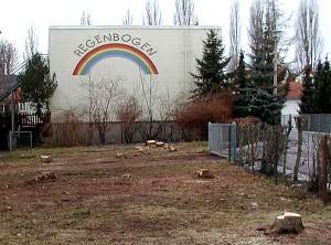 Kahlschlag unterm Regenbogen